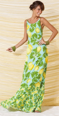 vestidos longo maxi Farm Verão 2014