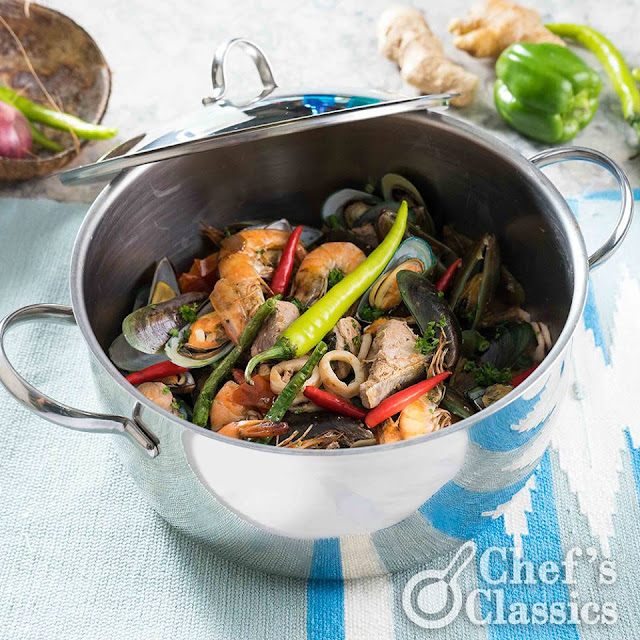 Seafood Bicol Express Recipe