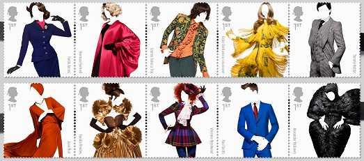 sellos diseñadores británicos