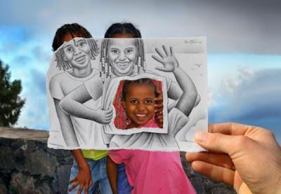 صور فوتوغرافية مرسومة باليد-منتهى
