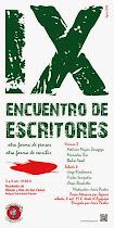 X ENCUENTRO DE ESCRITORES «OTRA FORMA DE PENSAR, OTRA FORMA DE ESCRIBIR > SEGOVIA 3 Y 4 DE OCTUBRE