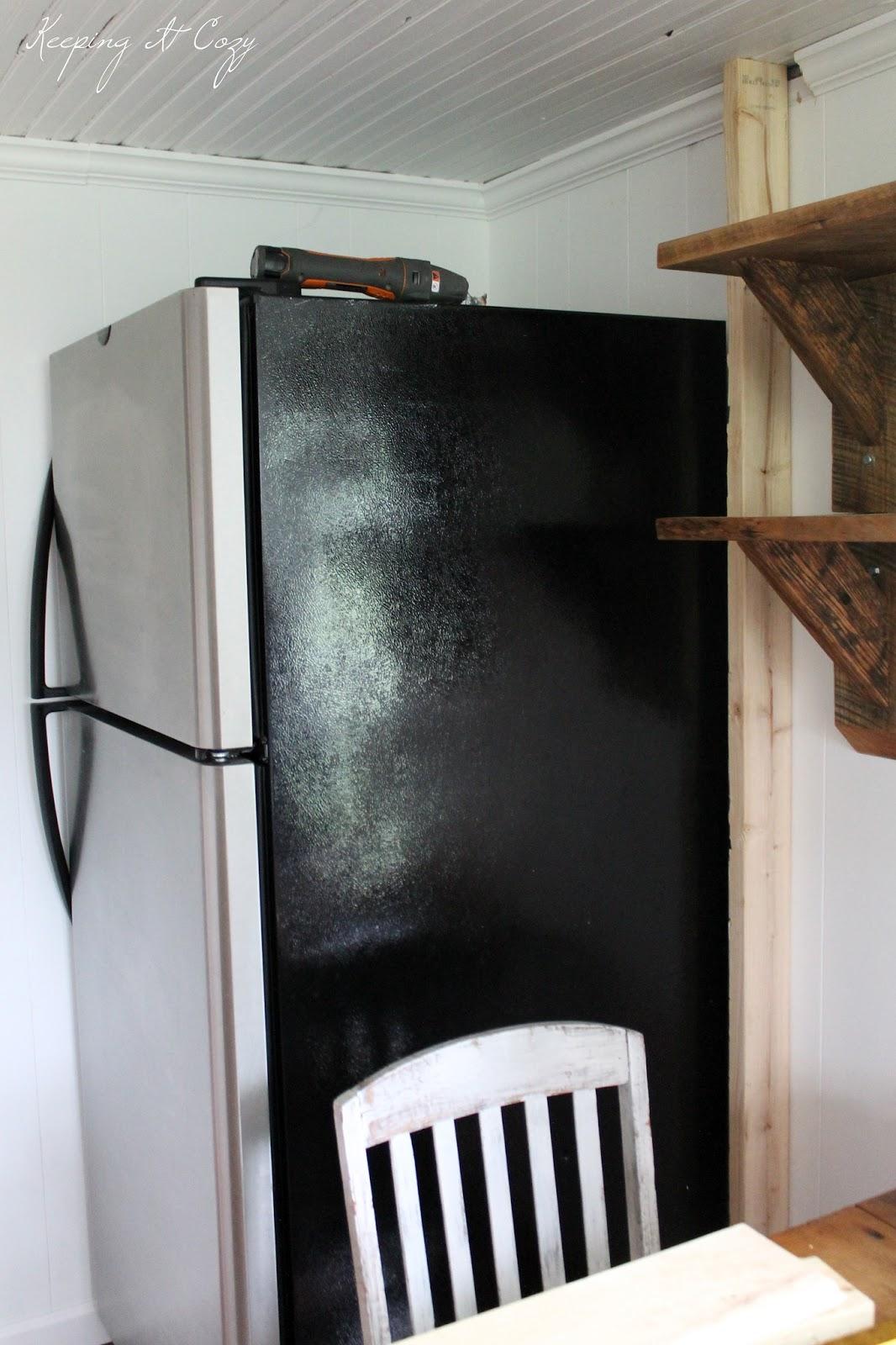 Small Kitchen Refrigerator Cabinet