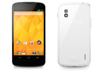 LG Nexus 4 - In Black And White Colors
