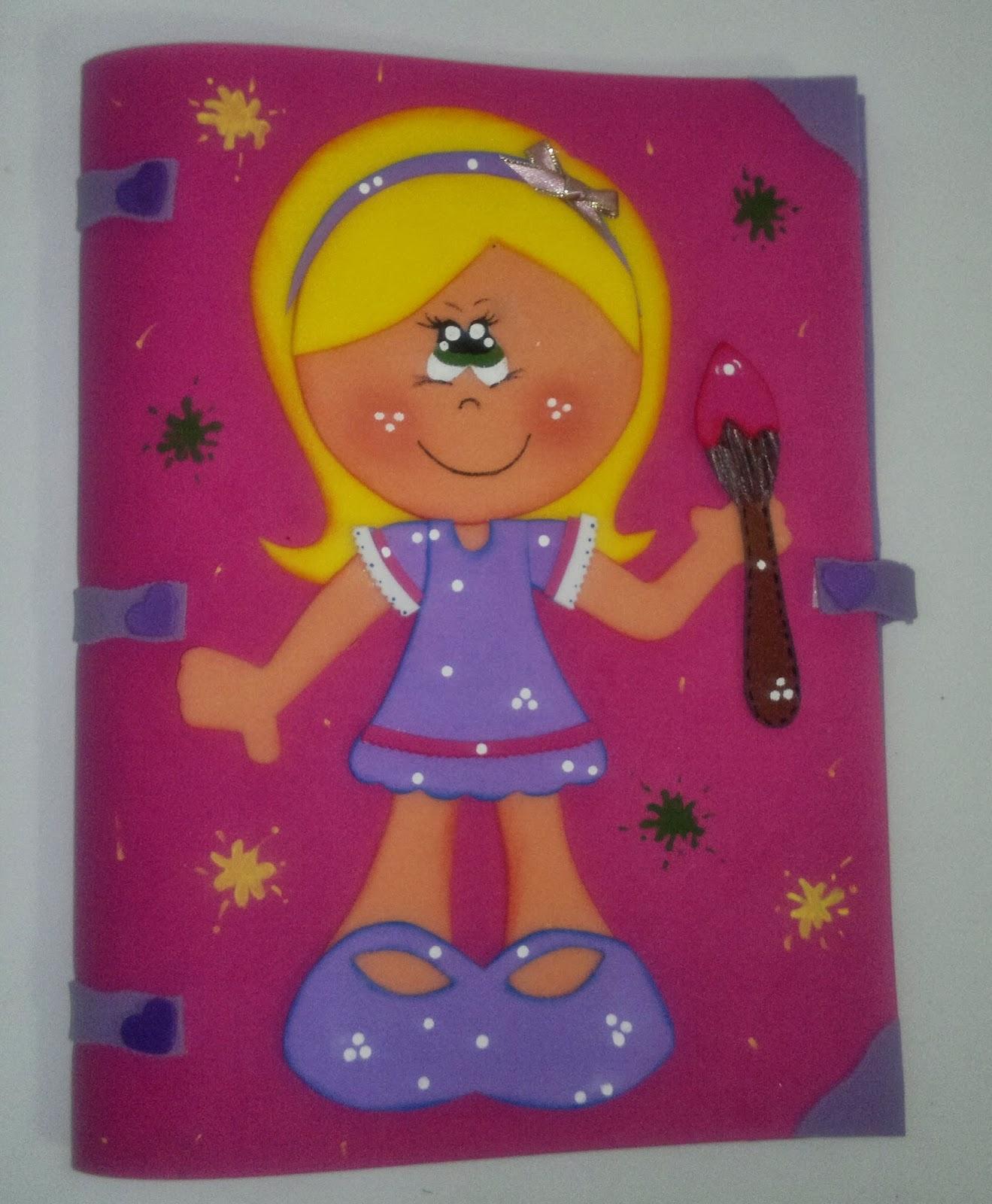 Manualidades TiendasOff: Forros para los Cuadernos de las Niñas