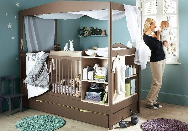 Ideas de Diseño para el Cuarto del Bebe - Preciosos !   Decorar tu ...