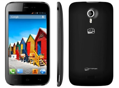 Micromax A110Q Specifications and its Price in India