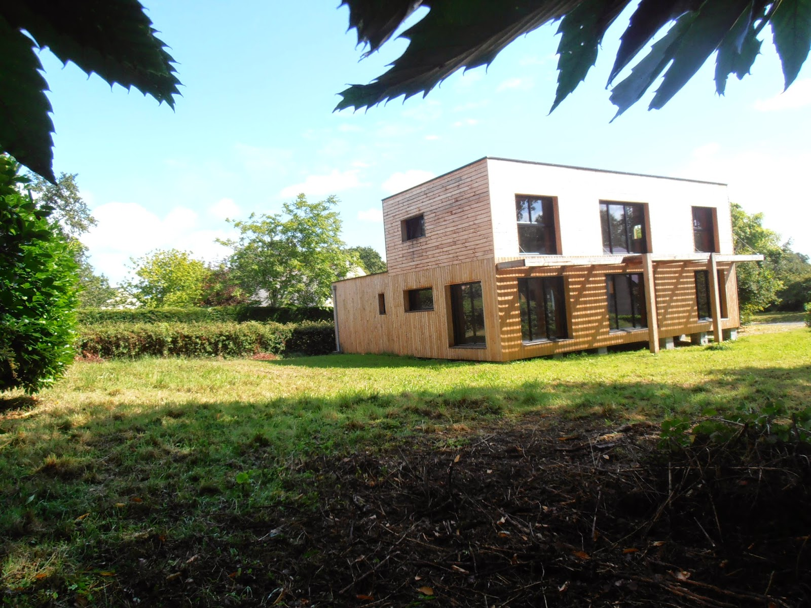 Ma grande cabane en bois d but du projet help for Ma cabane en bois