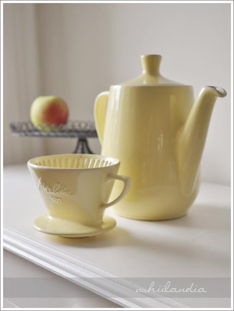 vintage melitta 101 / stara ceramiczna kawiarka