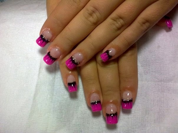 Glitter colorful abstract polka dot floral pink black white simple glitter colorful abstract polka dot floral pink black white simple pink nail art designs cute prinsesfo Gallery
