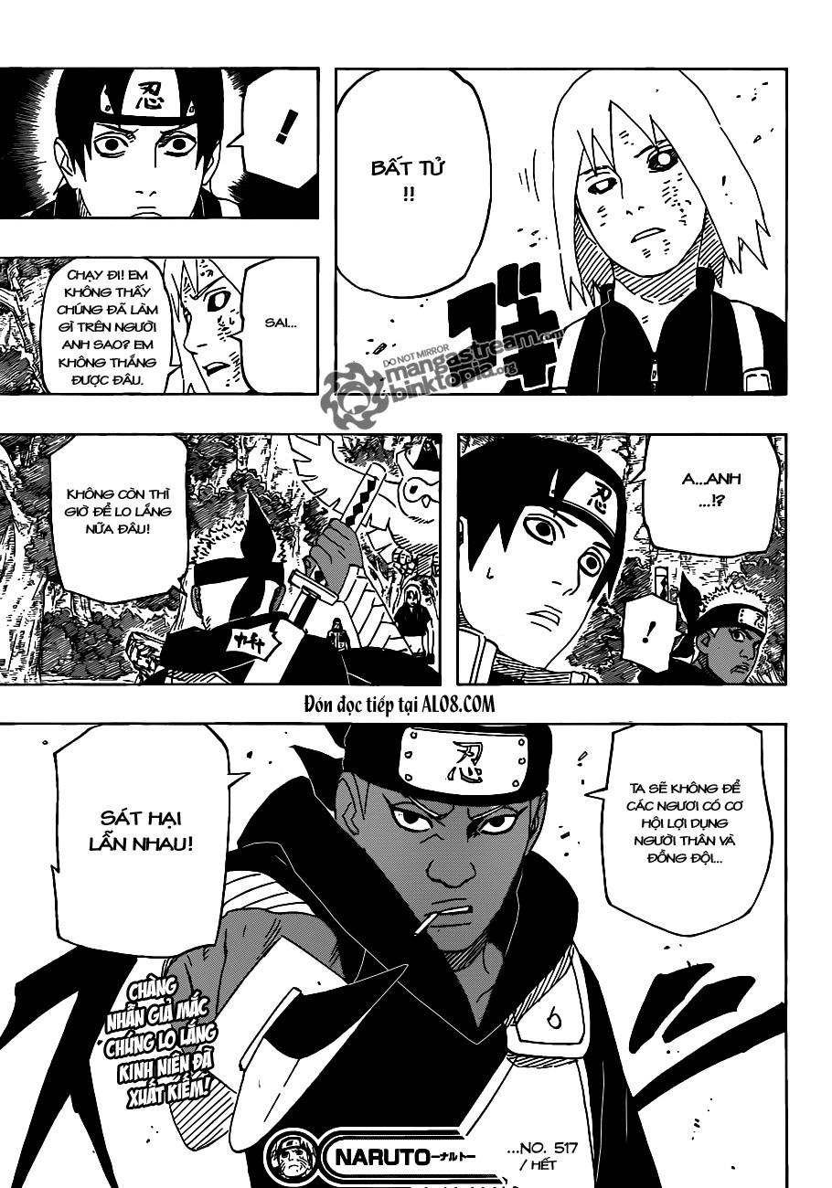 Naruto chap 517 Trang 16 - Mangak.info