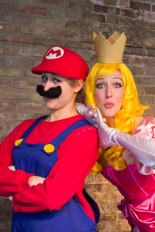 ACT OUT OPENING Boobs And Goombas A Super Mario Bros Burlesque Returns To Bucktown