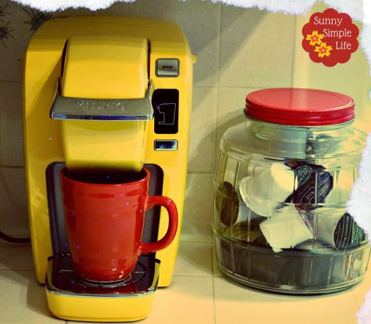 Cleaning Your Coffee Maker With Bleach : Sunny Simple Life: How to Clean Your Coffee Maker and Keurig Brewer