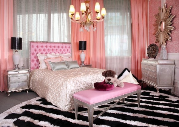 Stylish Girls Pink Bedrooms Design Amp Decor Ideas