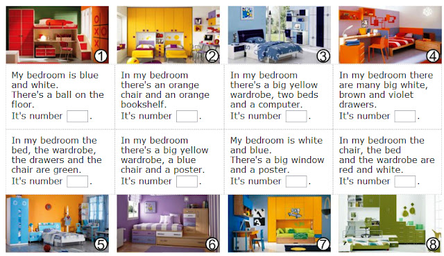 English is FUNtastic: Describing a house - video and interactive ...