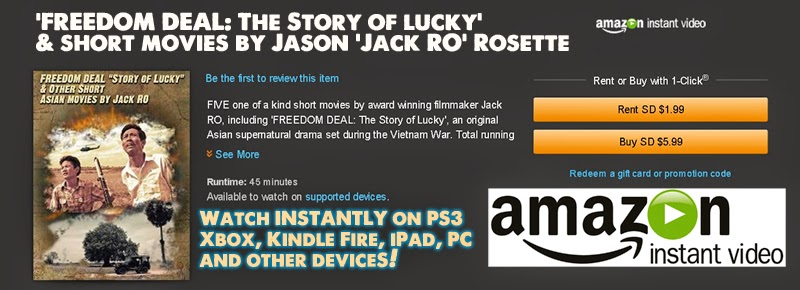 Watch on Amazon Instant Video Instantly: Cambodian supernatural drama, FREEDOM DEAL: The Story of Lucky