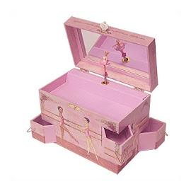 Ballerina Music Keepsake Box