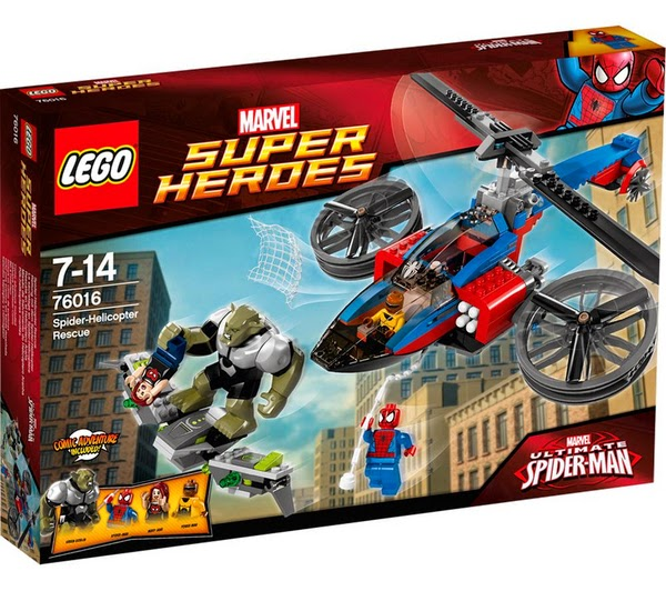 LEGO Ref. 76016 Rescate en el Helicóptero Araña