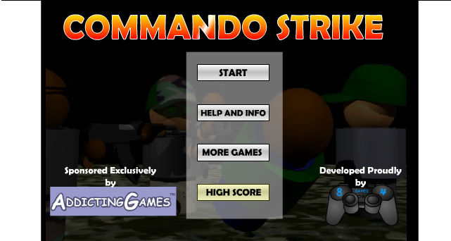 Commando Strike Games 2
