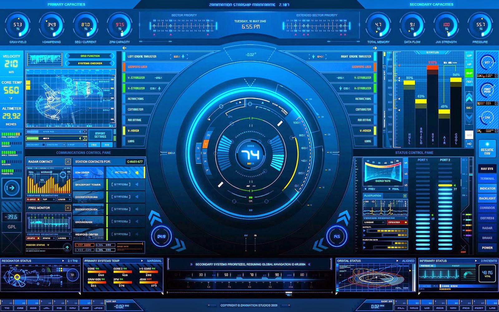 Papel de Parede Ficção Científica Tela Digital para pc hd grátis Sci Fi desktop hd wallpaper image free