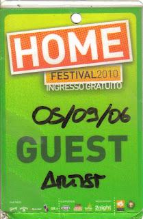 Pass Home Festival EelST 2010