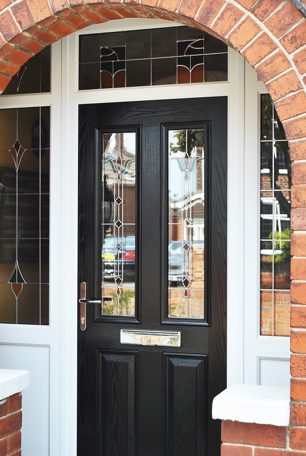 A stunning renovation altmore composite upvc rehau frames for Front door frame designs