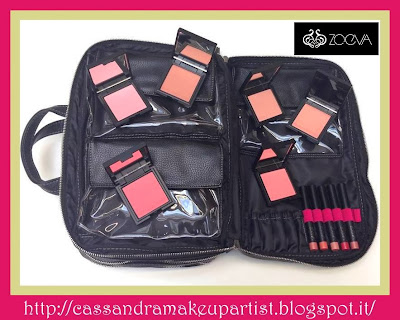 ZOEVA - Last news 2013 - ZOE BAG - LUXE COLOR BLUSH - LIP CRAYON+