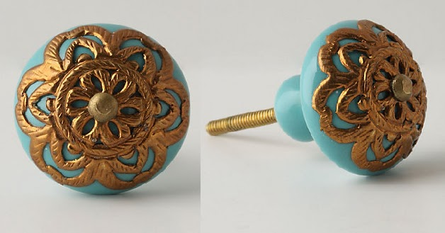 Lace Filigree Cabinet Knobs {Anthropologie Inspired}
