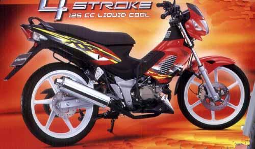 Seputar Motor Indonesia Spesifikasi Honda Nova Sonic Rs 125cc