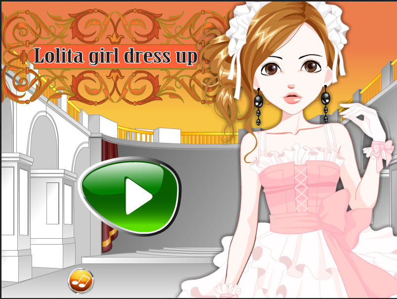 Lolita girl dressup funbrain game