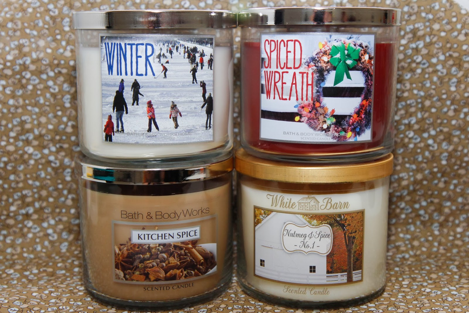 haul bath and body works candles microscope beauty. Black Bedroom Furniture Sets. Home Design Ideas