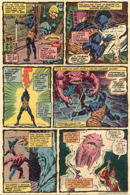 Conan the Barbarian (1970) Issue #85 #97 - English 12
