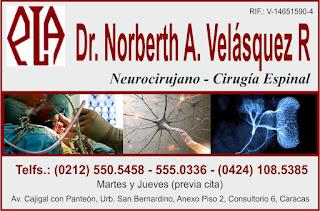 DR. NORBERTH A. VELASQUEZ R en Paginas Amarillas tu guia Comercial