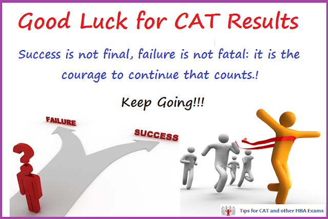 CAT 2012 Results - Good Luck