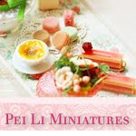 Dollhouse Miniatures By Pei Li (Website and Classes)