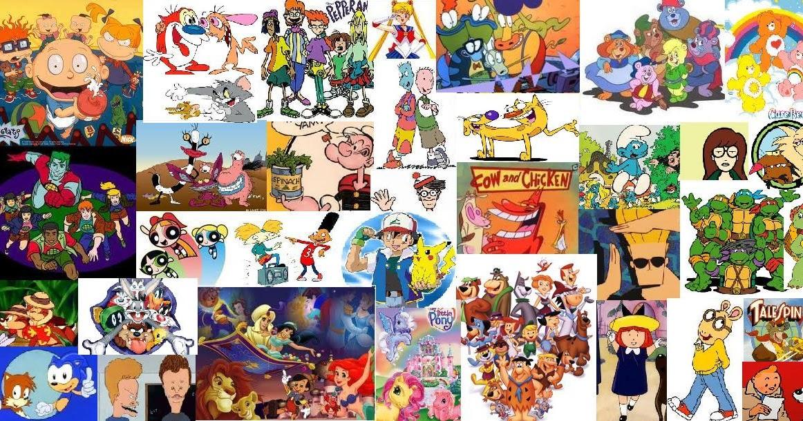 kids of the nineties cartoon shows of the nineties
