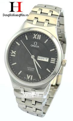 Đồng hồ nam Omega dây sắt