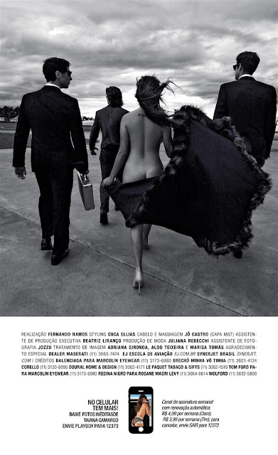Fotos de Taiana Camargo nua e pelada na Playboy