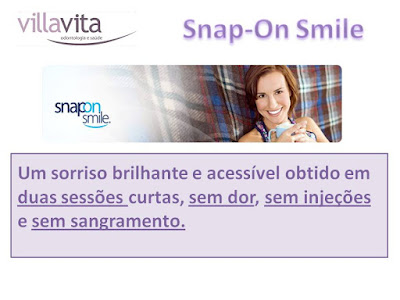 Slide1 - Snap-On Smile: O sorriso de Hollywood