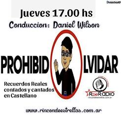 PROHIBIDO OLVIDAR
