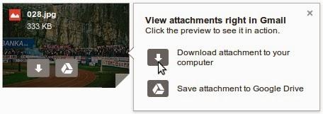 Pregled privitaka izravno u Gmail