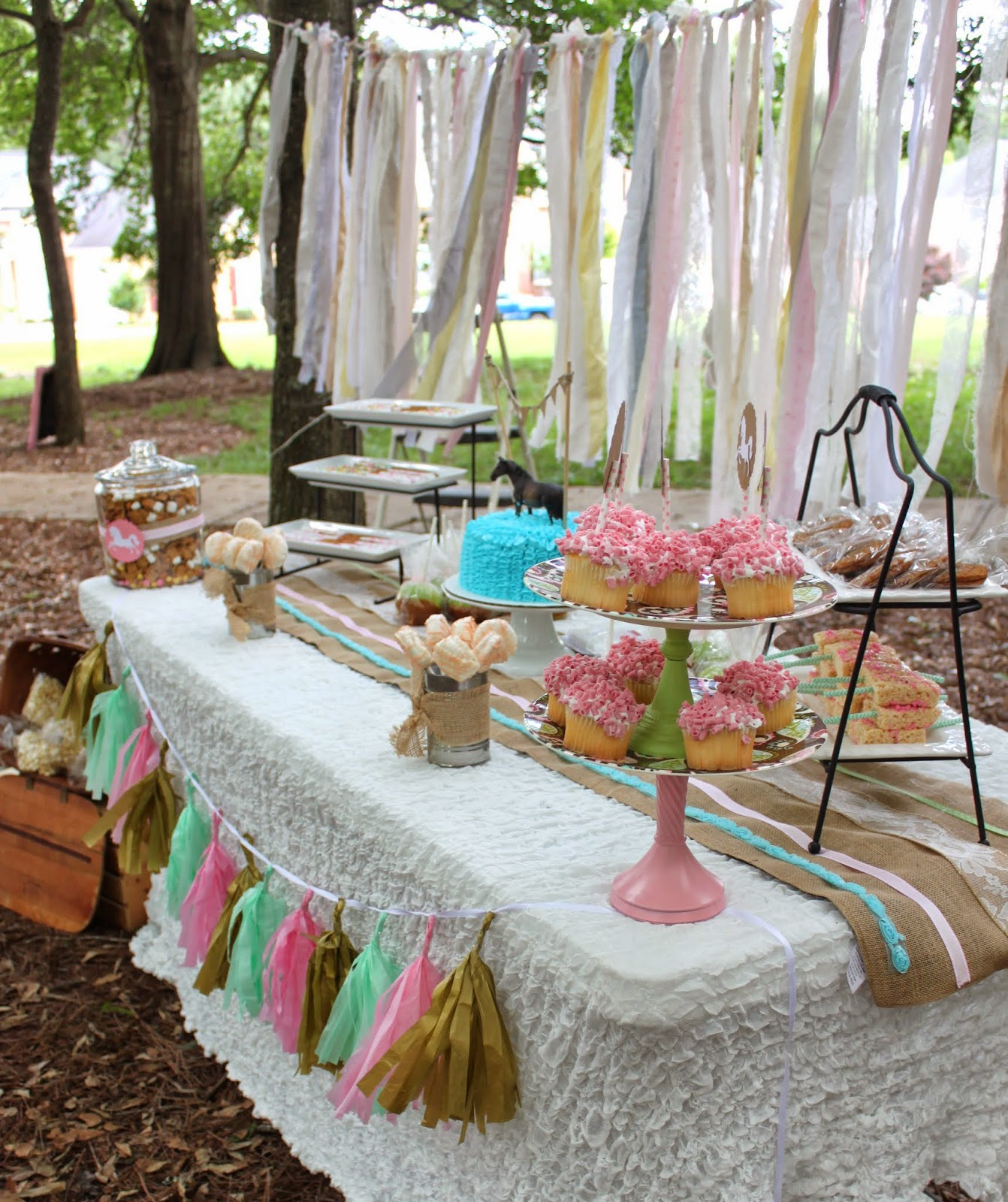 So Cute Parties: Tween Vintage Horse Party