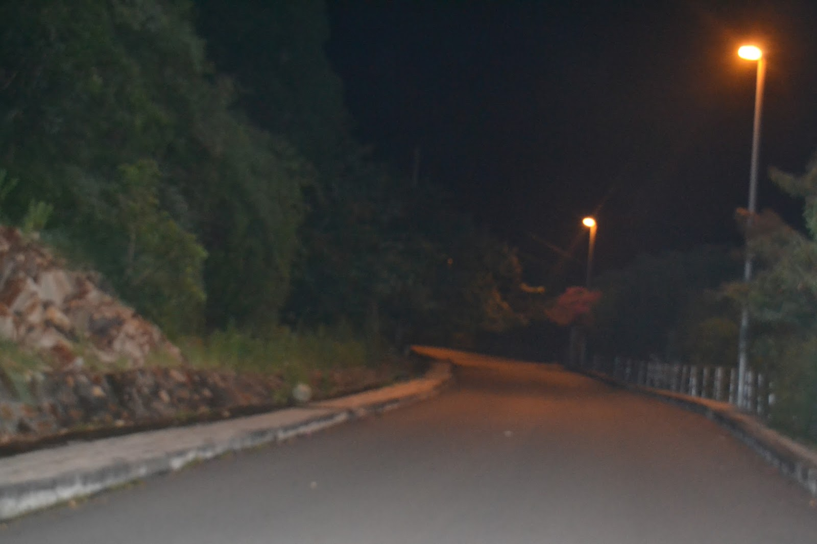 Creepy experience at night at lighthouse, Vung tau