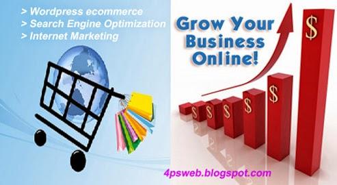 wordpress website-eCommerce desing