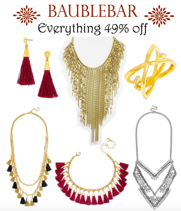 BaubleBar - everything 49% off | Black Friday Sale!