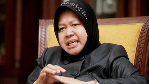 Mantan sekaligus calon Walikota Surabaya Tri Rismaharini / risma