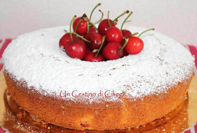 ciambella con ciliegie gluten free
