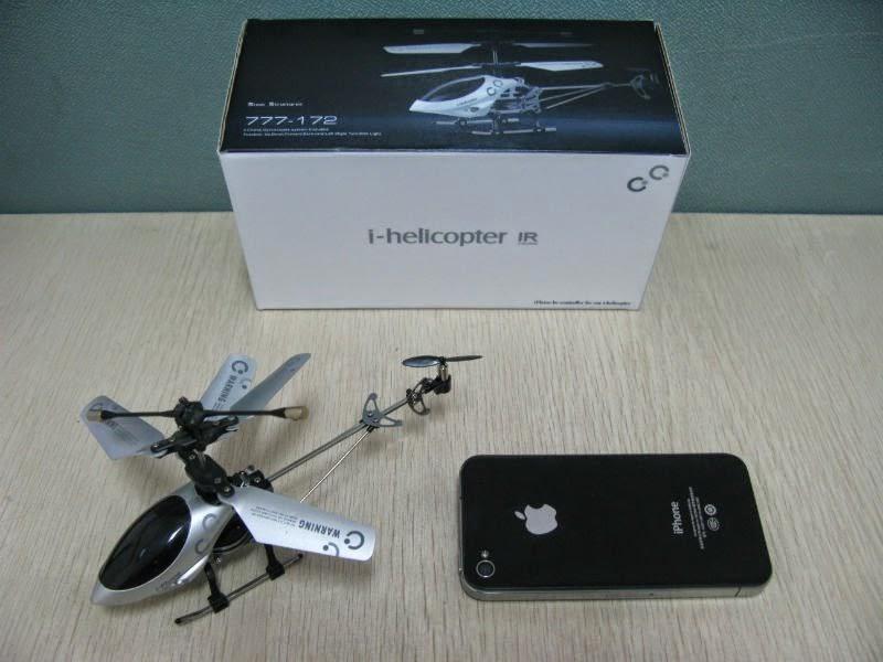 Máy bay i-Helicopter điều khiển bằng Smart phone