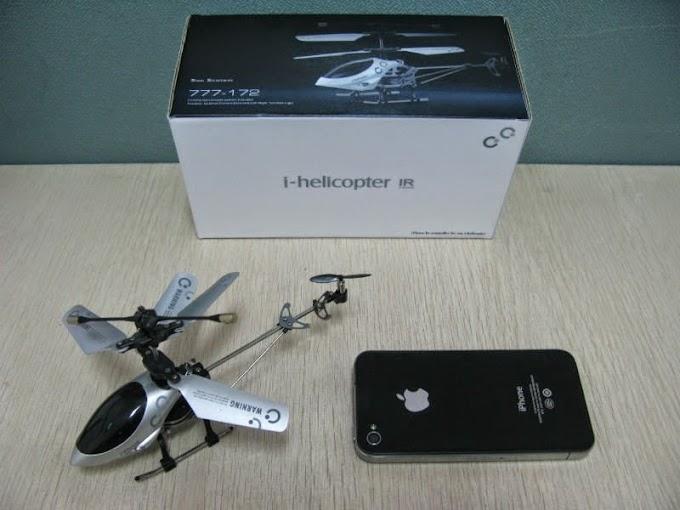 Máy bay i-Helicopter điều khiển bằng Smart phone - phần 1