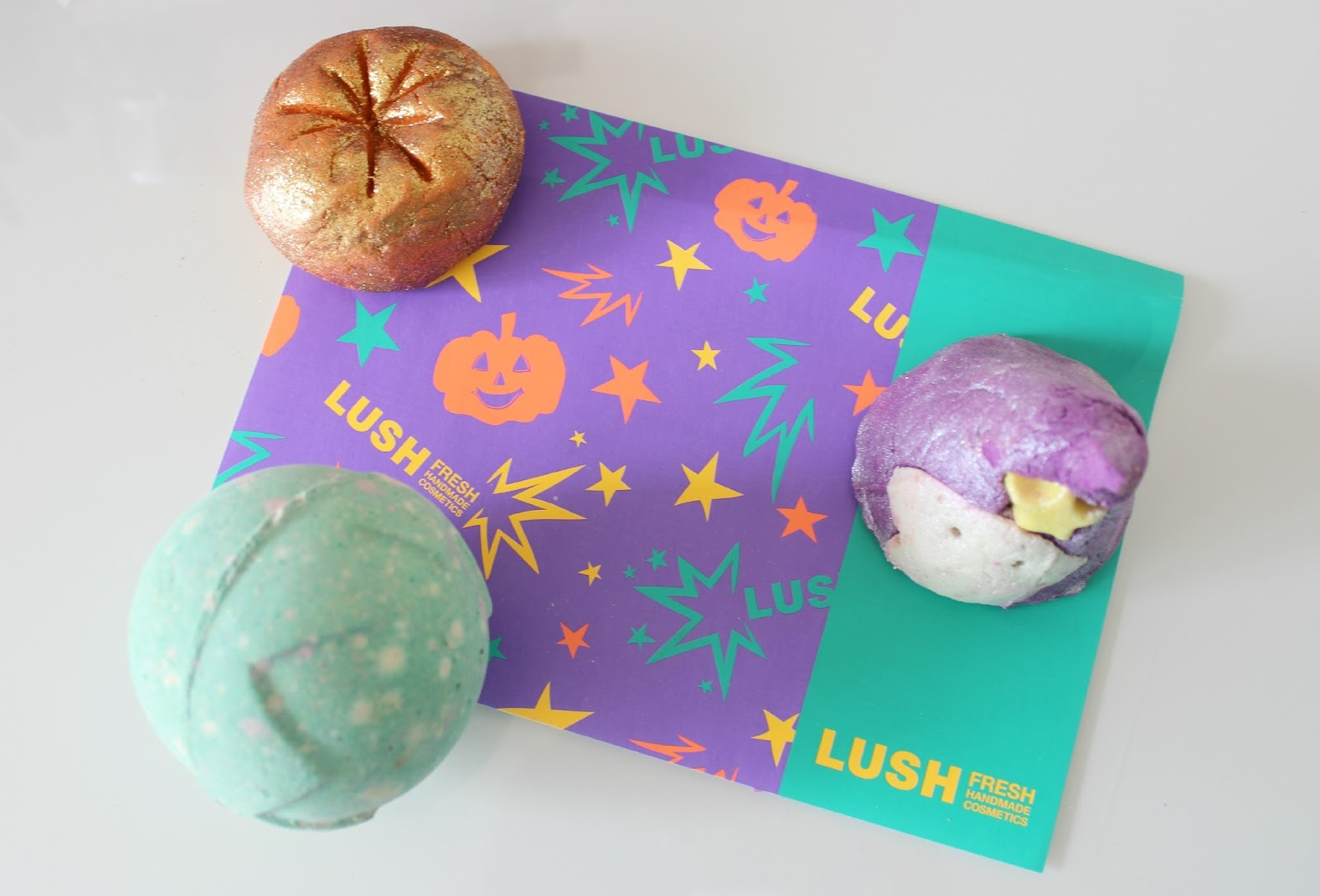A picture of Lush Halloween Collection 2014