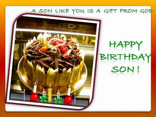 Birthday Wishes For Son